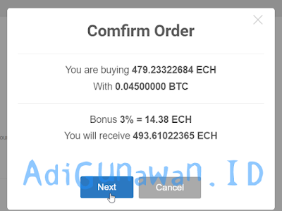 Membeli Ethconnect (ECH) Terbaru