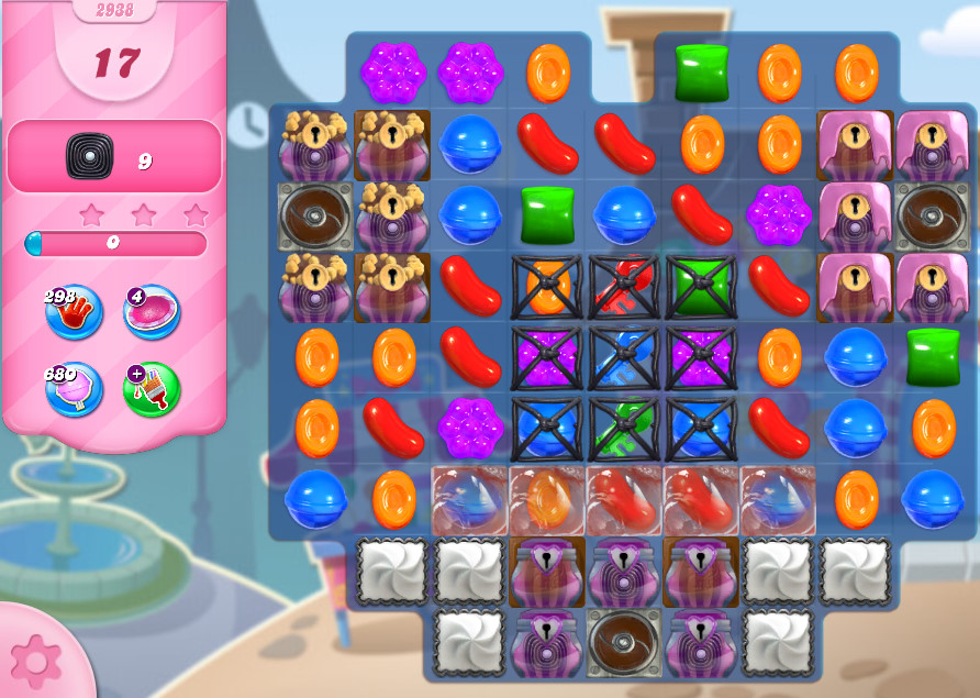 Candy Crush Saga level 2938