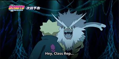 Dan kali ini saya akan membahas mengenai spoiler dan fakta dari anime Boruto: Naruto Next Generations Episode 14 - Jalan yang Dilihat Boruto - yang dijadwalkan akan dirilis pada hari Rabu, tanggal 5 Juli 2017 yang akan lebih terfokus pada Jalan yang dilihat Boruto dengan Dojutsu misteriusnya serta upaya mengalahkan raksasa bernama Nue yang telah membahayakan desa.