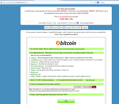 Read about: Bitcoin use in Ransomware