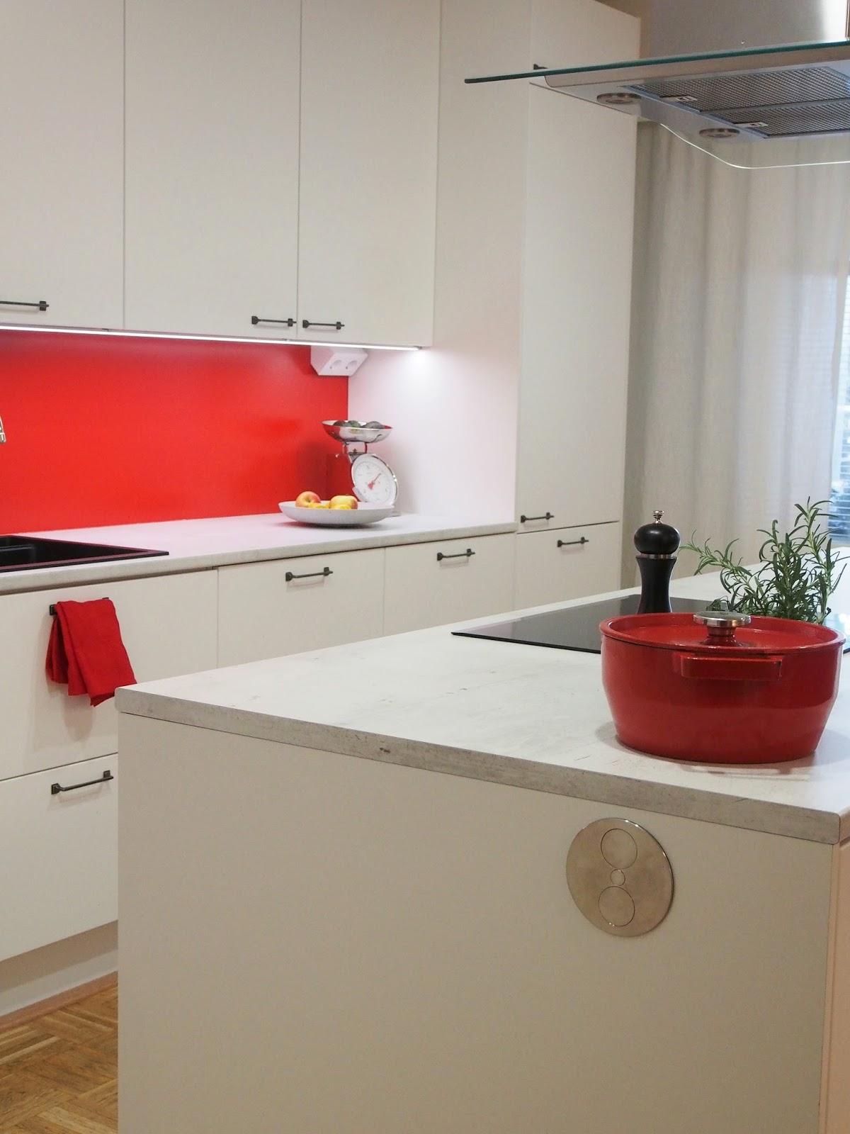 Peggyn uusi punainen keittiö — Peggyn pieni punainen keittio