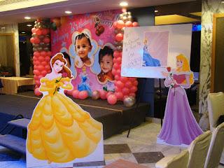 Dekorasi Ulang Tahun Anak Perempuan Tema Princess 9