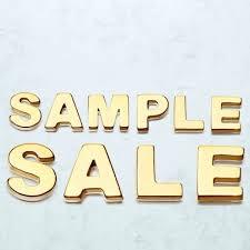 Asley Clake Sample Sale September 2016