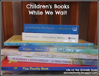 Family waiting to adopt buys a new kids book each month of the wait