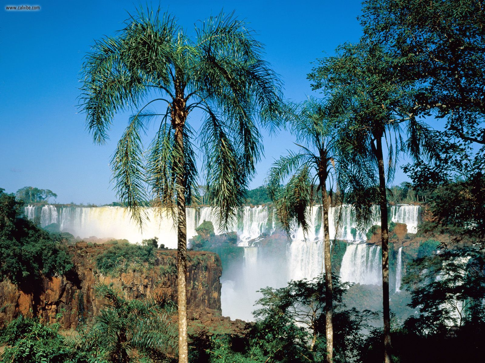 Iguazul Falls Wallpaper Top Wallpapers Images Most Amazing Waterfalls Wallpapers