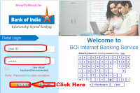 how to register new mobile number in bank of india