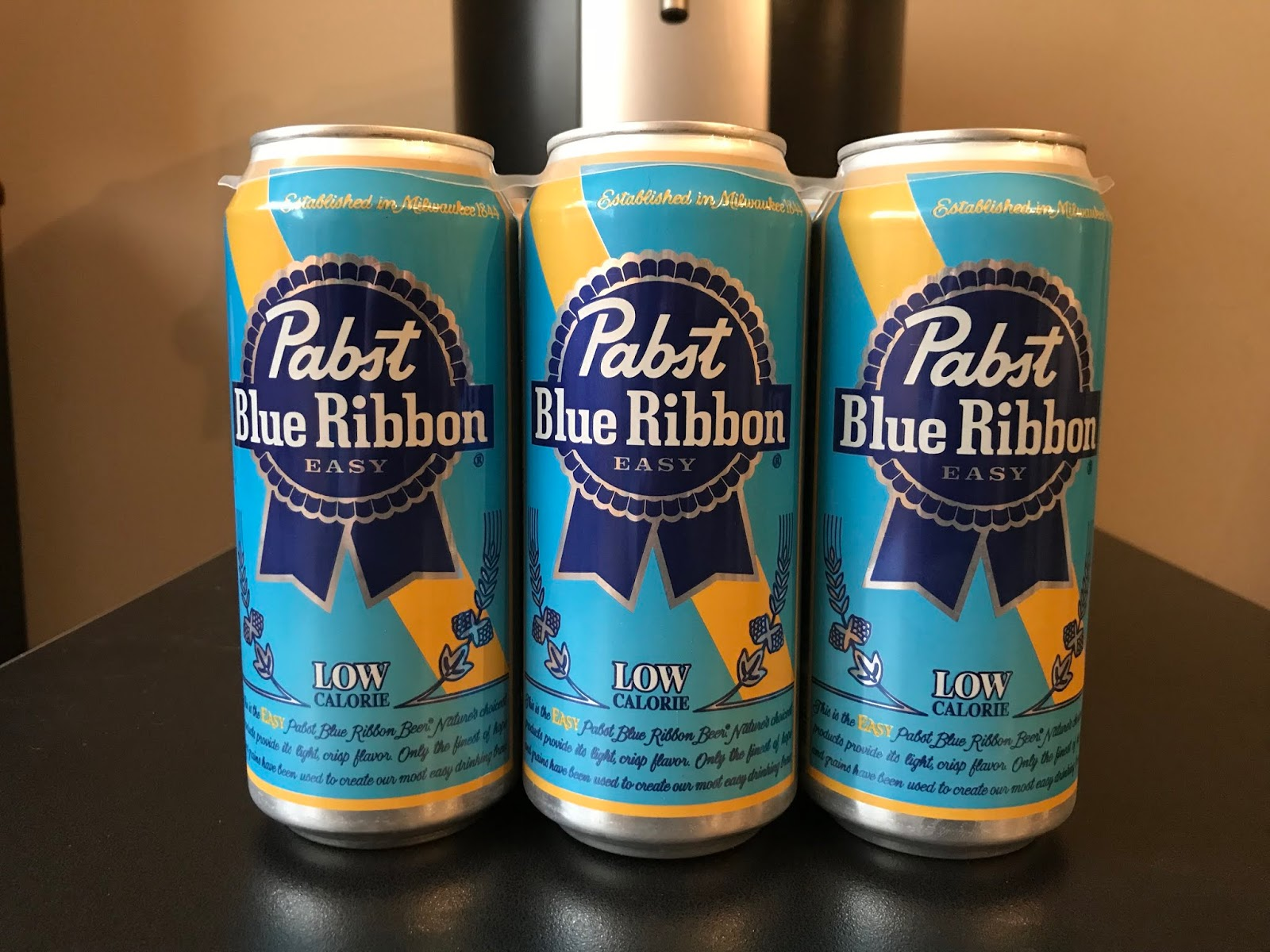 767c4a369dd Beer Of The Week - Pabst Blue Ribbon Easy - Bumming with Bobcat