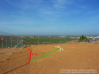 Replanteo de escuadras, método 3-4-5, replanteos de obra, hacer escuadras en el terreno