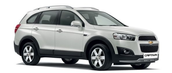 Price or Chevrolet Captiva
