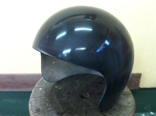 155739931 - カスタムペイント工程  ジェットヘルメット 祭雲天女