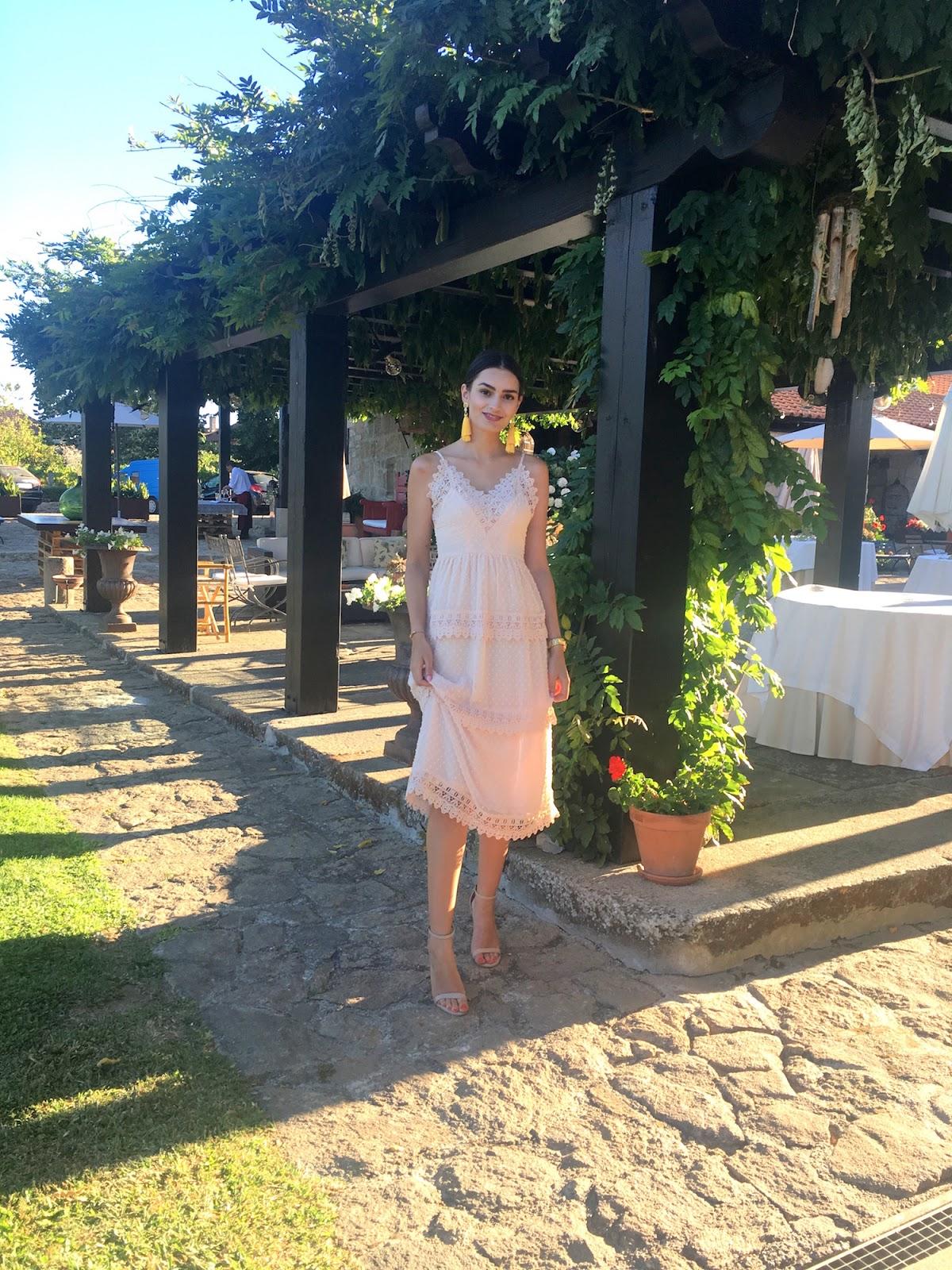 august summer wedding guest portugal