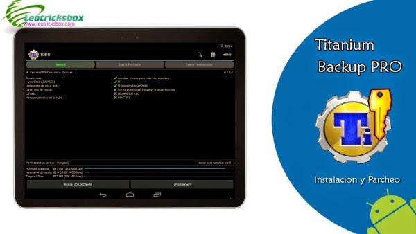 Android App : Titanium Backup Pro v6.1.5.4