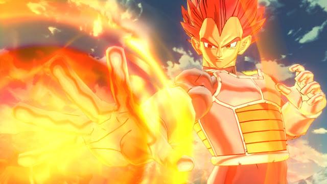Super Saiyan God Vegeta