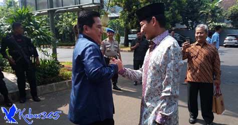 Sandi Kaget Erick Thohir Mau Jadi Timses Jokowi