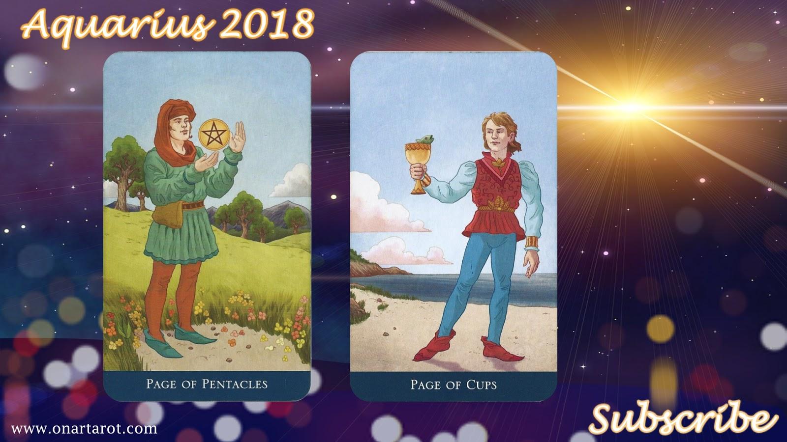 Aquarius 2018 Love Tarot Reading! — Onar Tarot