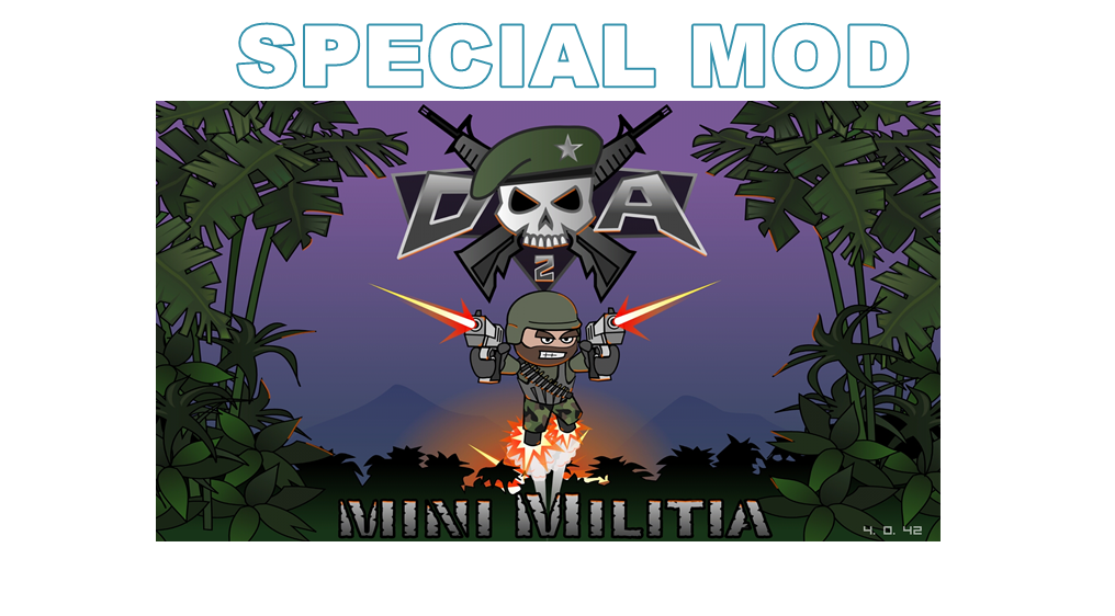 mini militia hack unlimited nitro and ammo