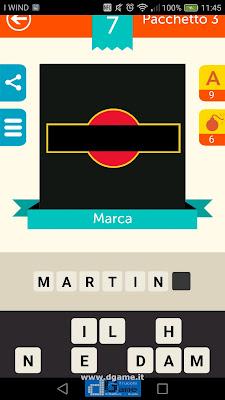 Iconica Italia Pop Logo Quiz soluzione pacchetto 3 livelli 7-50