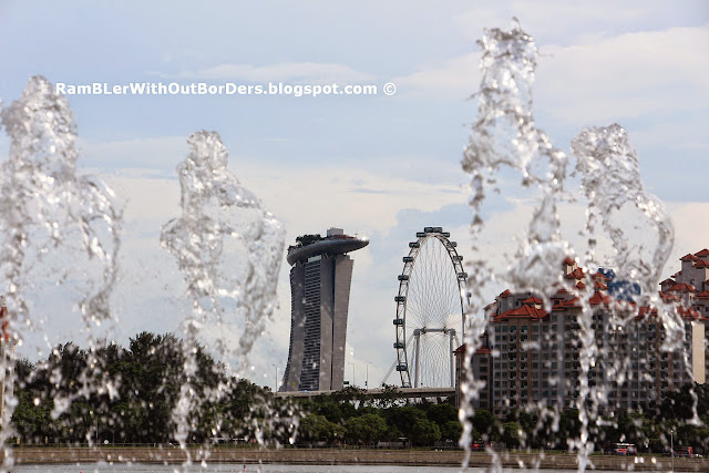 View of Marina Bay, Sports Hub, Singapore