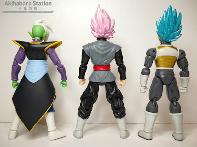 Review de las Dragon Stars Series vol.4; Super Saiyan Blue Vegeta, Super Saiyan Rosé Goku Black y Zamasu