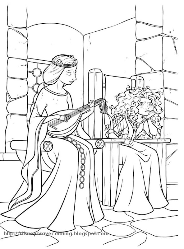 Disney Evil Queen Coloring Pages