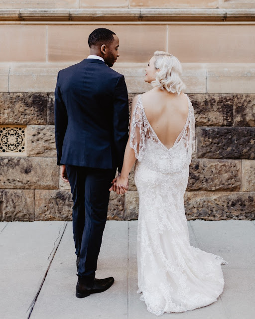winter wedding adelaide john st photography gatsby bridal gown