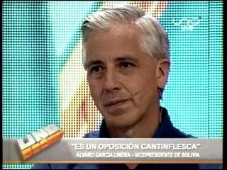 Álvaro García Linera presenta su plan de gobierno en Uno Decide de la Red UNO