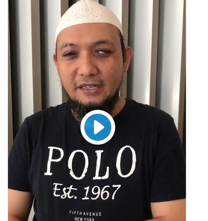 Salam dari Sahabat kita Novel Baswedan untuk Seluruh Rakyat Indonesia