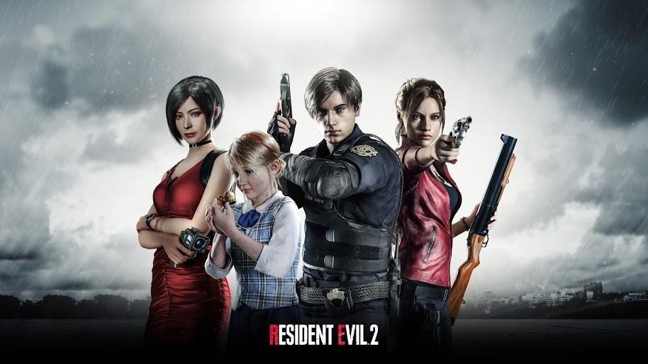 Resident Evil 2 Characters 8K Wallpaper #9