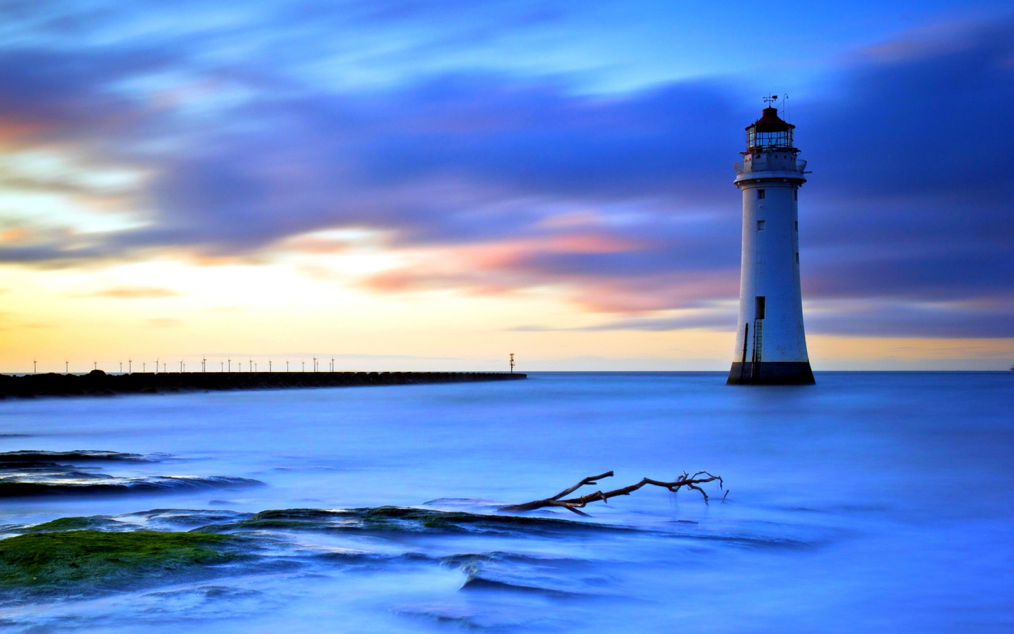 "FREE HEADER TEMPLATES: 10 Desktop Wallpapers ""Lighthouse"