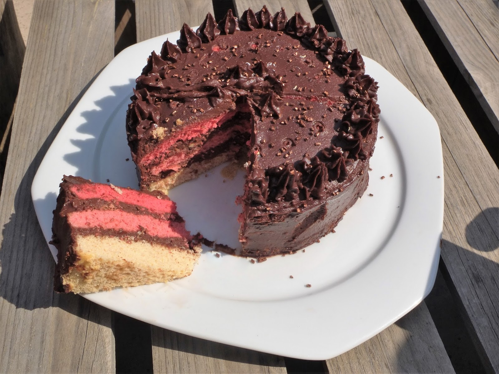 La recette de l'ombre cake au chocolat