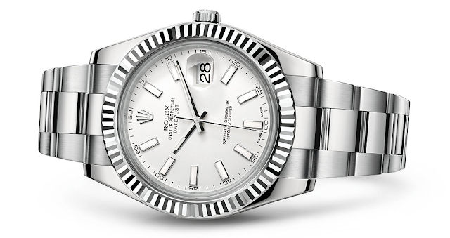 Photo of Rolex Datejust II White Rolesor (photo: Rolex)