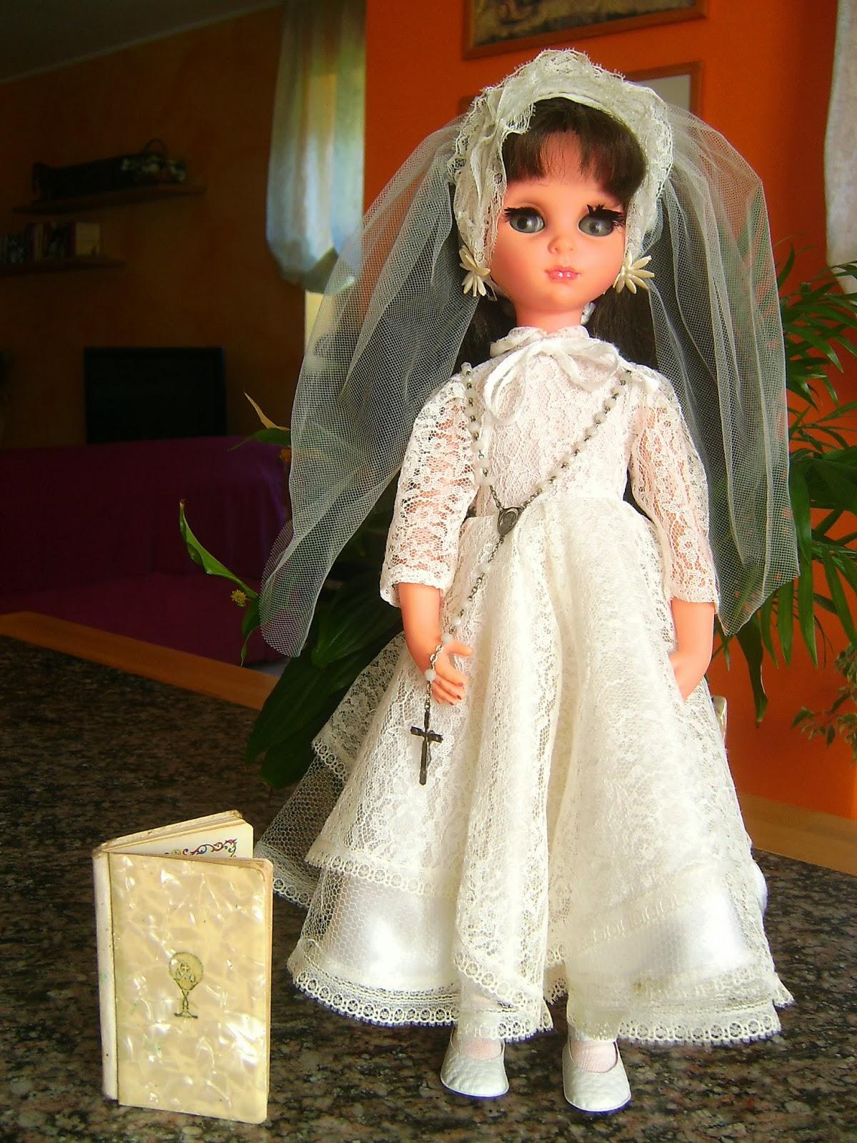 Bambole Furga Tre Esse Abiti Da Sposa E Per La Prima Comunione