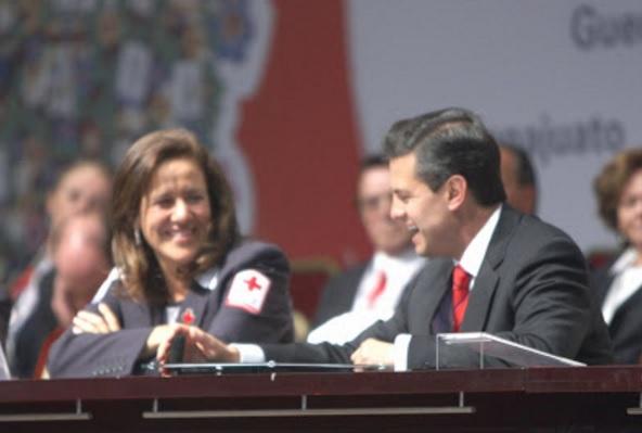 Margara Zavala Y Peña Nieto