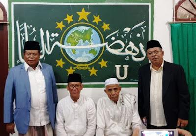 Duet KH Muhsin Abdillah-Prof Mukri Pimpin NU Lampung 2018-2023