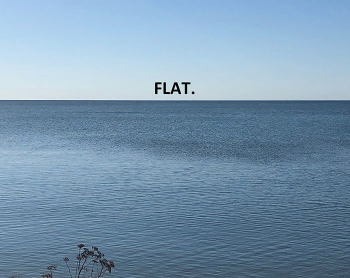 Earth is not flat