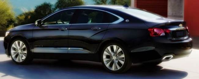 2018 Chevy Impala Redesign