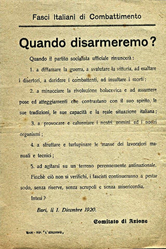 Le squadre d 39 azione dal 1919 al 1922 for Numero deputati e senatori italiani