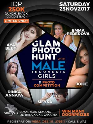 Male Indonesia Photoshoot Event