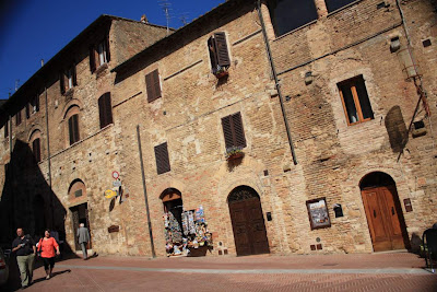Medieval houses in San Gimignano