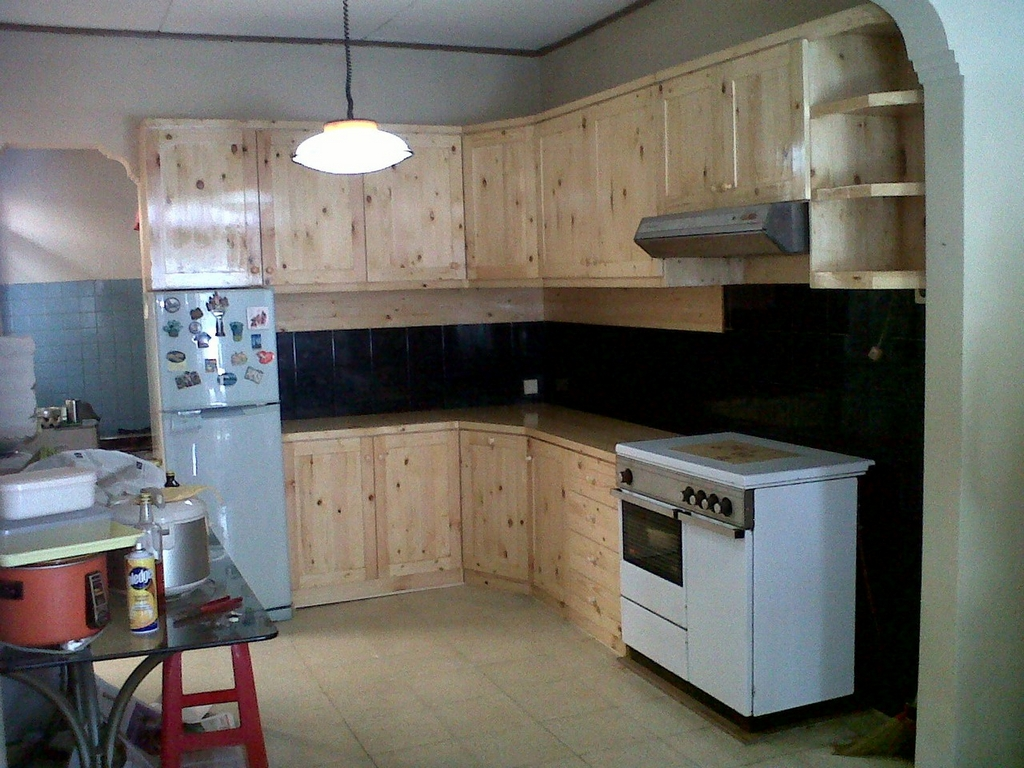 kitchen set kayu jati belanda 4