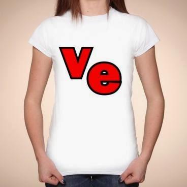 Koszulka Love - połówka damska