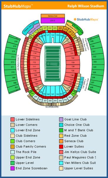 New Era Field Seating Chart & Interactive Seat Map SeatGeek