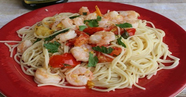 Shrimp Scampi Pasta Recipe