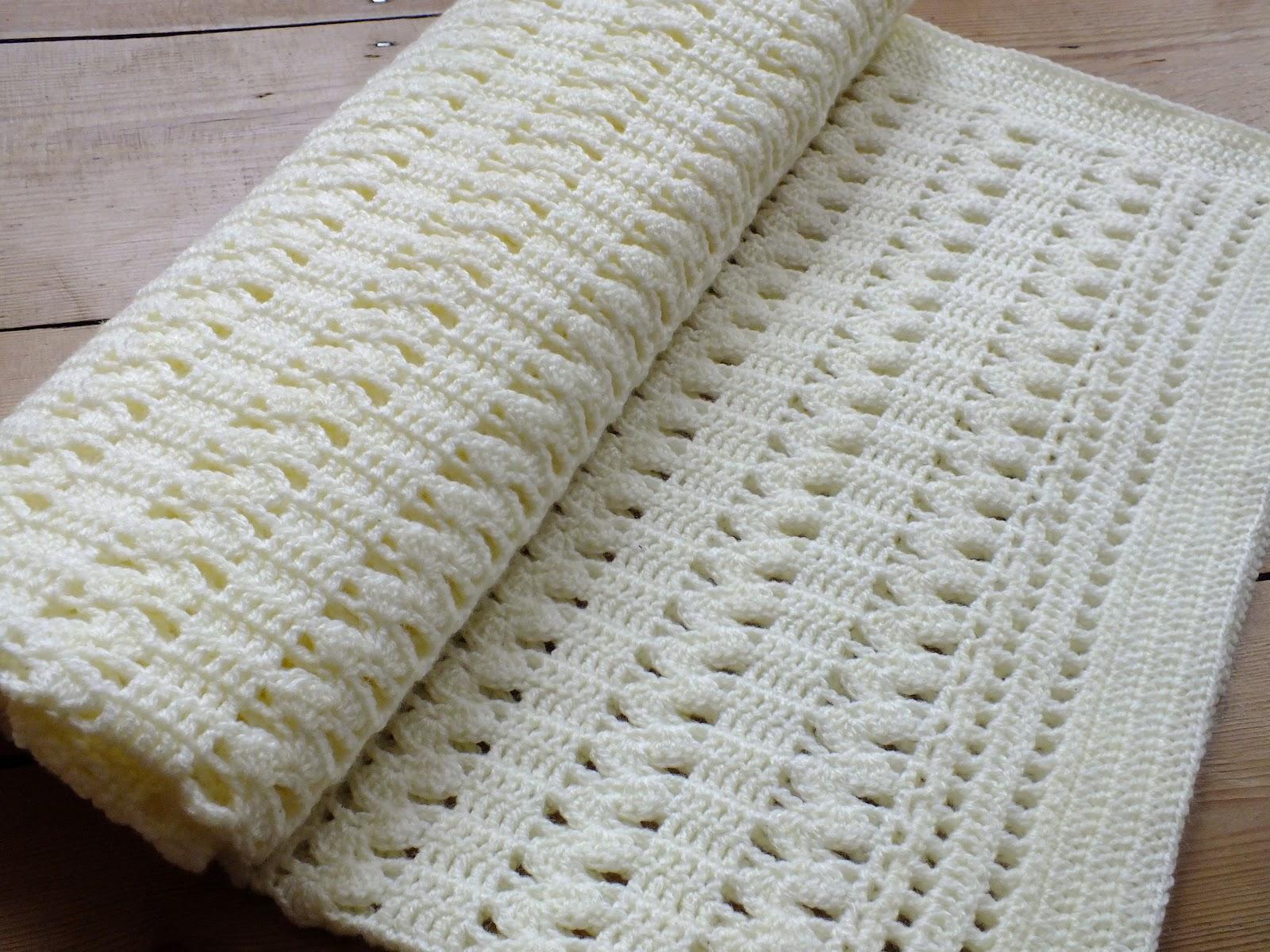 Hanjancrafts Gentle Zigzag Baby Blanket Shell Instructions