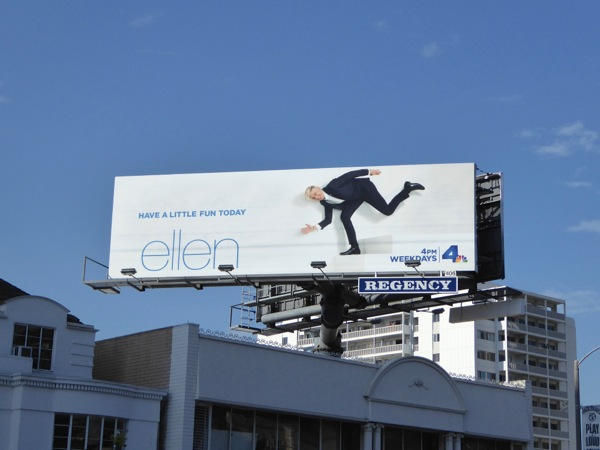 Ellen season 13 Have a little fun today billboard