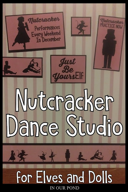 Nutcracker Dance Studio printables for an Elf doll room // In Our Pond