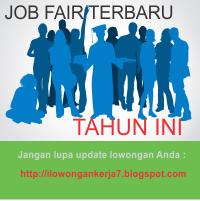 Jadwal dan Daftar Lengkap Job Fair Terbaru
