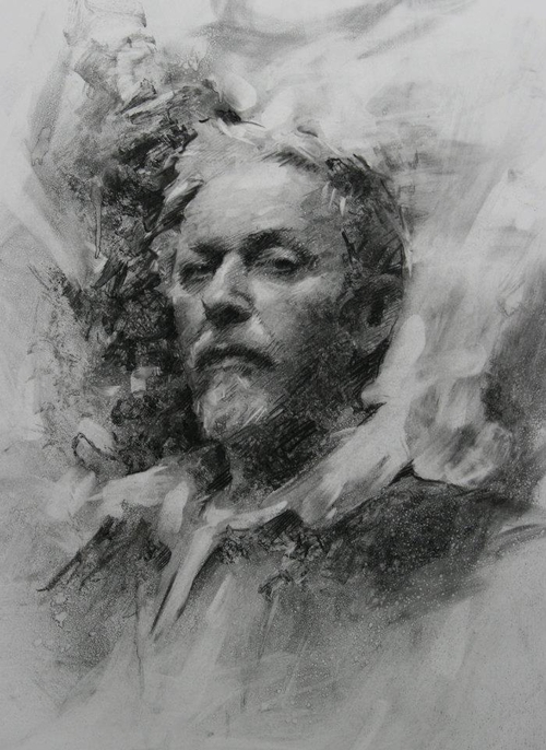 21-Casey-Baugh-Portrait-Drawings-of-Charcoal-Studies-www-designstack-co
