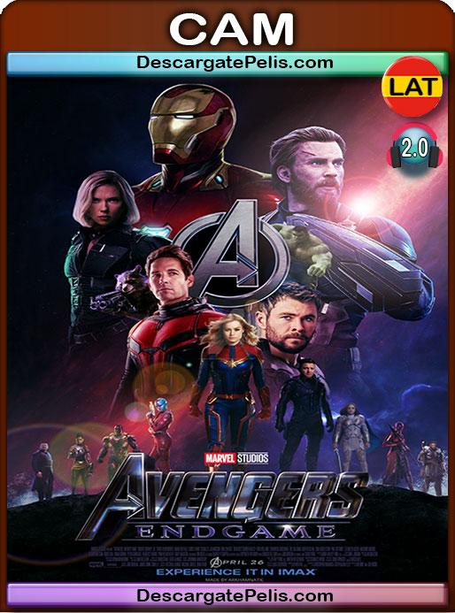 Avengers: Endgame (2019) CAM Latino