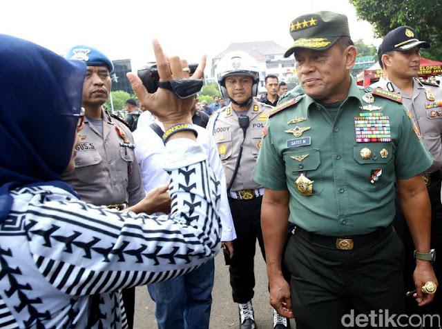 Ditanya Gabung NasDem, Jenderal Gatot: Siapa yang Bilang?